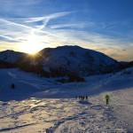 escursione montagna alba